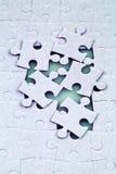 Puzzle denteux Photos stock