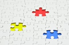 Puzzle denteux. Images stock