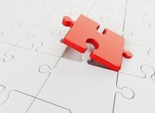 Puzzle denteux Photo libre de droits