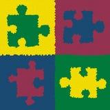 Puzzle denteux Photos libres de droits
