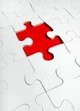 Puzzle denteux avec les disparus photo libre de droits