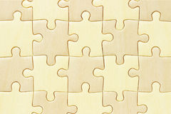 Puzzle denteux Checkered Photo stock