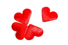 Puzzle des coeurs Image libre de droits