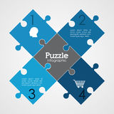 Puzzle design. Puzzle concept with jigsaw pieces icons design, vector illustration 10 eps graphic Royalty Free Stock Image