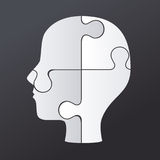 Puzzle design Royalty Free Stock Photo