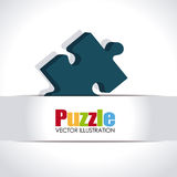 Puzzle design Stock Photo