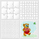 Puzzle Design. Stock Photo