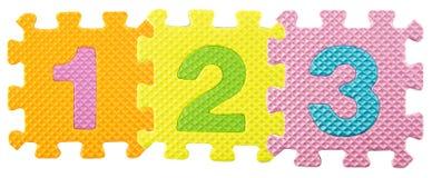 Puzzle di alfabeto Fotografia Stock