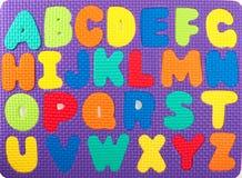 Puzzle di Alphabeth Fotografia Stock