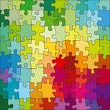 Puzzle di colore Immagini Stock