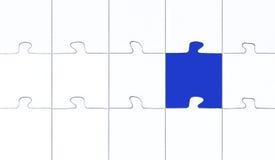 Puzzle di contrasto Fotografia Stock Libera da Diritti