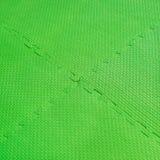 Puzzle di gomma della schiuma Fotografia Stock
