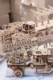 puzzle di legno tridimensionale 3D Fotografie Stock