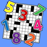 Puzzle di numeri Fotografia Stock