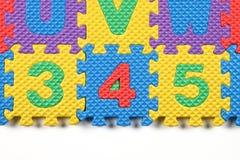 Puzzle di numero illustrazione vettoriale