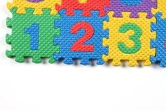 Puzzle di numero illustrazione di stock