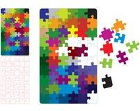 Puzzle di Pcolor Fotografia Stock