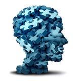Puzzle di psicologia illustrazione vettoriale