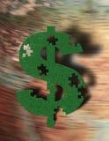 Puzzle di ricchezza Immagine Stock Libera da Diritti