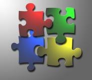 Puzzle di Windows Immagini Stock Libere da Diritti