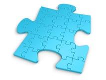 Puzzle différent Photos libres de droits