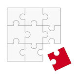 Puzzle - does not fit! Royalty Free Stock Photography