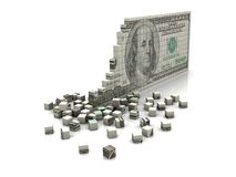 Puzzle dollar Royalty Free Stock Photography