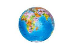 Puzzle du globe 3d Images libres de droits