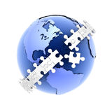 Puzzle_Earth Images stock