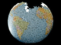 Puzzle Earth Planet Stock Image