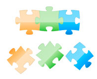 Puzzle element Stock Photo