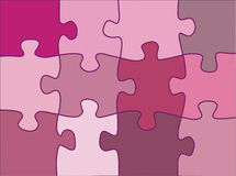 Puzzle element design background Royalty Free Stock Photography
