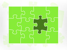 Puzzle element Stock Images