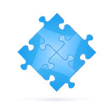 Puzzle elements Stock Photography