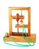 Puzzle en bois Images libres de droits