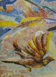 Puzzle en céramique vitré de mosaïque Image libre de droits