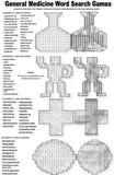Puzzle esotici ed unici illustrazione vettoriale