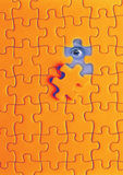 puzzle and eye Royalty Free Stock Image