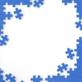 Puzzle frame Stock Photography