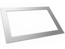 Puzzle frame Stock Images