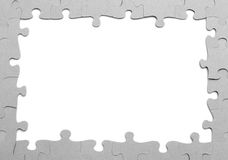 Puzzle frame Stock Photo