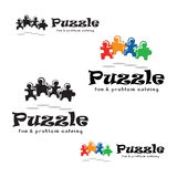Puzzle Fun and Problem Solving Stock Photography