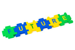 Puzzle Future Stock Image