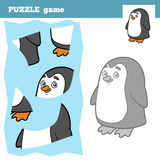 Puzzle Game for children, penguin Stock Photography