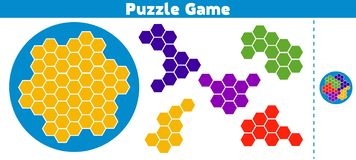 Puzzle game. Complete the Pattern Education logic game for preschool kids. Vector Illustration. Puzzle game. Complete the Pattern. Education logic game for vector illustration