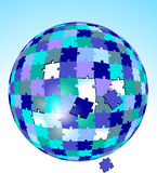Puzzle global. Solution success, symbol Stock Photography