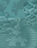 Puzzle global de Digitals Photographie stock libre de droits