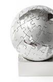Puzzle globe 2 Royalty Free Stock Image