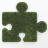 Puzzle grass Royalty Free Stock Images