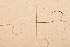 Puzzle grigio Immagini Stock